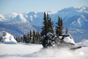 Snowmobiling adventure photo
